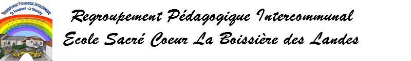 Ecole Sacré Coeur La Boissière des Landes